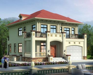 坡地二层带下沉庭院及地下室复式楼别墅设计施工图纸13.1mX18m