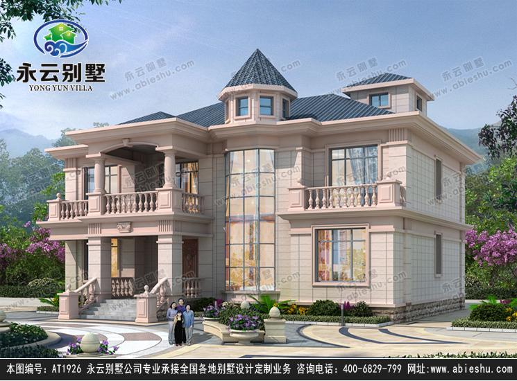 这5款二层别墅,外形有艺术感,有的带车库,有的带露台,经济实用