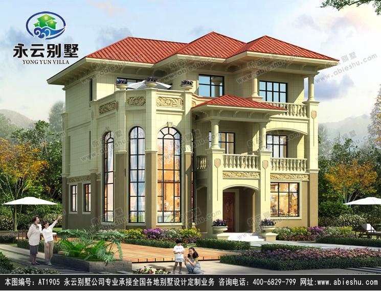 农村12米*12米场地怎么建好看?这栋别墅不仅美观而且实用