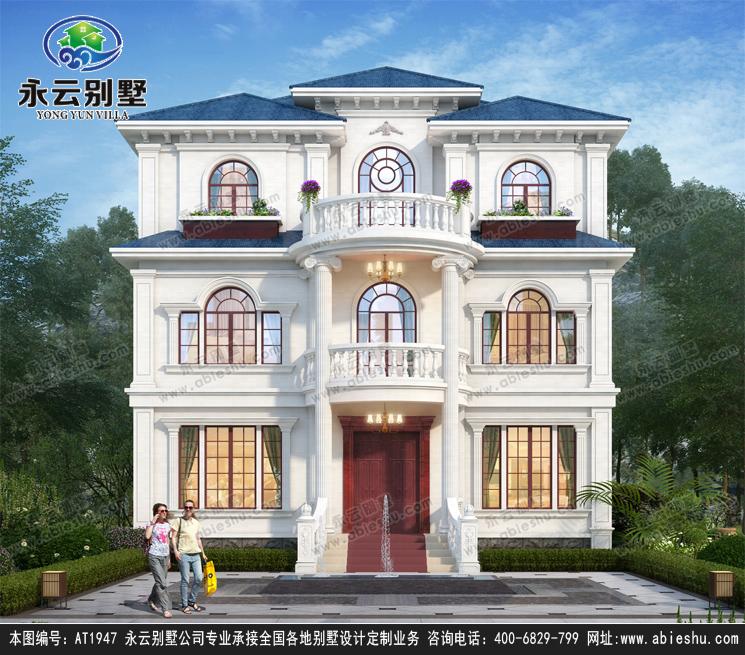 11米*10米农村别墅这么设计最好看,第一款美极了