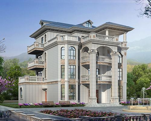 南安市占地面积210平高端大气欧式四层别墅私人定制案例欣赏